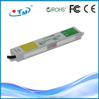 12V 24W Constant Voltage Waterproof led driver 180v dc power supply