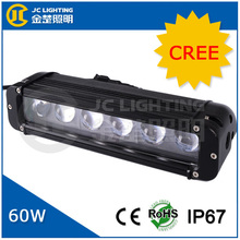 """11"""" Inch 60W 4D LED Light Bar with Spot Flood Combo Beam for Optional for SUV, ATV, Truck, Jeep, Wrangle Driving"""