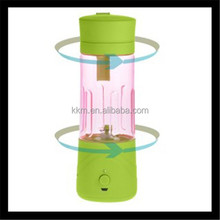 Portable Multi-fuction travel juicer blender mixer/380ML Capacity Fresh Fruit Processor, Mixer, Juicer