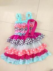 baby girl tulle wedding dress, girl dress, wholesale children's boutique clothing