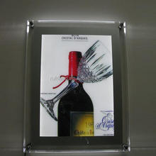 outdoor advertising led board acrylic board crystal picture frame
