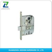 round square brass forend latch deadbolt backset european remote key hotel electronic handle door knob cylinder lock