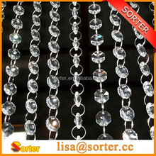 Party Decoration Event & Party Item Type and Wedding Occasion clear crystals garland