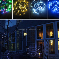 Waterproof 100 LEDs Solar Power String Strip Light Outdoor Christmas Party Light Cool White Warm White