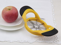 stainless steel apple corer and slicer