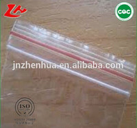 Clear packing nuts plastic zipper bag