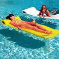 Schwimmbad gummimatten für Spaß recreaton und Schwimmbad float mat Pool wasserbett warmem wasser matte