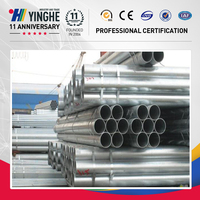 China top ten galvanized pipe products/$400-650 PER TON (FOB price)/5 ton(min order)