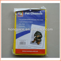 80%viscose, 20%polyester non-woven fabric dog dry cloth (super water absorbent)