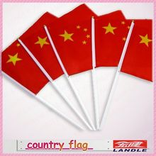 Great quality china cheap custom polyester country flag