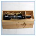 cajas de regalo de vino de madera caja de madera del vino