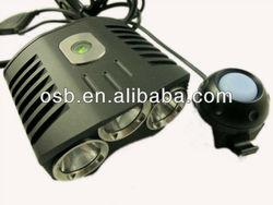 Trustfire 2100Lm 3x CREE XML XM-L T6 LED Bike Bicycle Light Lamp HeadLamp HeadLight SET/bicycle accessory light/
