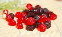 raspberry buleberry blackberry shape gummy candy