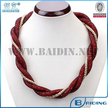 2015 trendy mesh stardust handmade necklace vintage jewelry trends