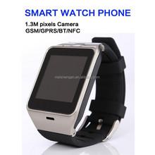 "1.54"" multi- function waterproof mtk6260A nfc smart watch phone"