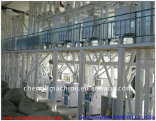 medium scale high quality maize processing machine/plant