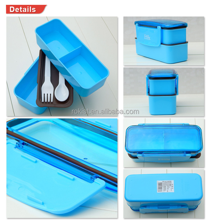 Back To School Kids Plastic Lunch Box For Kids