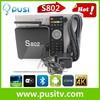 Pusi Amlogic S802 Quad Core 2Gb Ram 16Gb Nand Flash Android 4.4 Quad Core S802 T8 Tv Box S8 Kodi Smart Tv Box