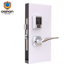 OSPON 2015 New design RFID card door lock for hotel chains