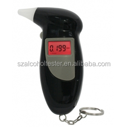 Alcohol Breath Analyzer DYT-AT168 BACTRACK Breathalyzer Portable Keychain LCD Alcohol Tester