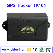 Waterproof Car/vehicle kids tracker GPS104 GPS tracking system standby time quad-band Car GPS tracking device