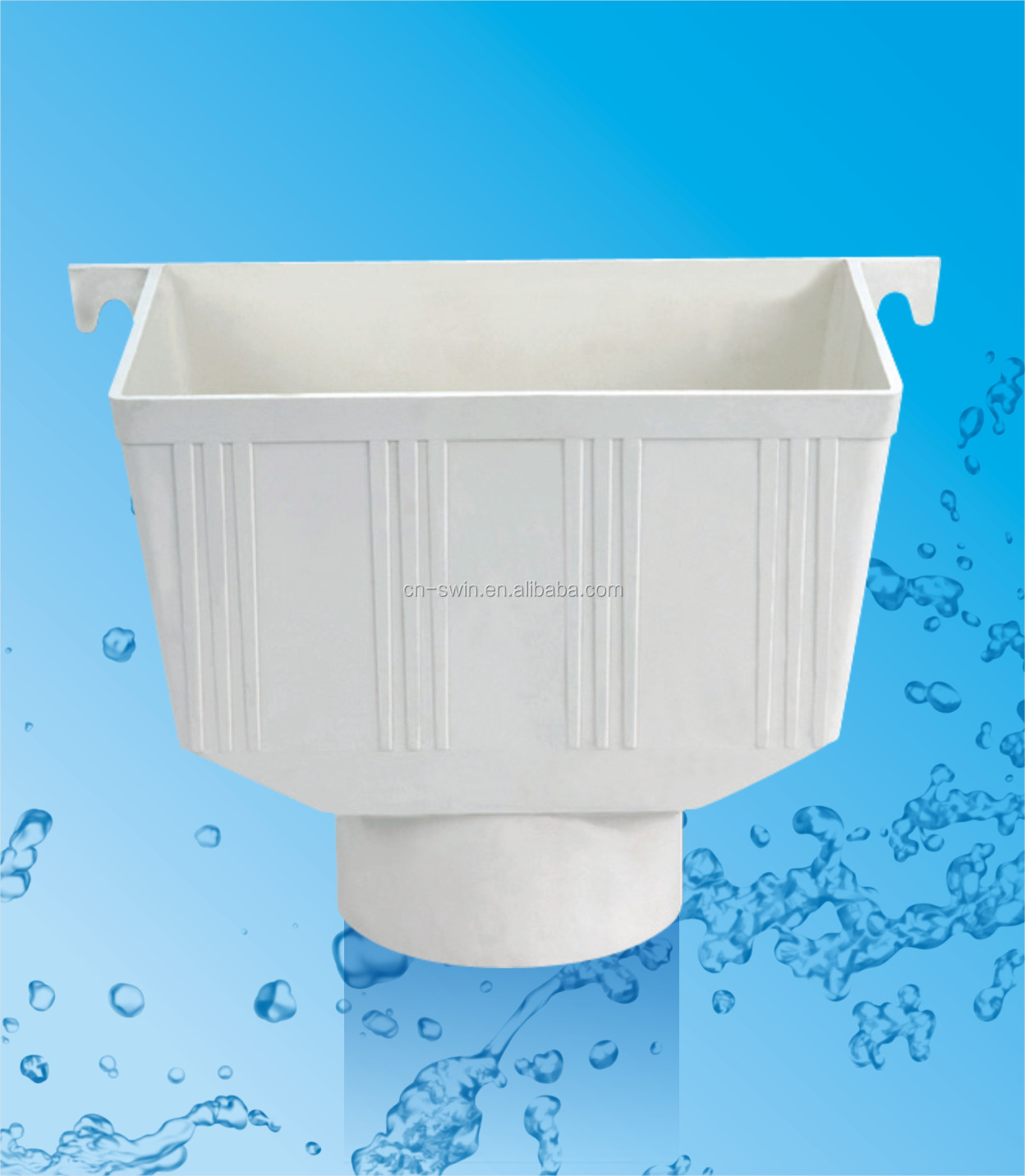 4 Inch Pvc Water Pipe Fitting Rain Roof Drain Water