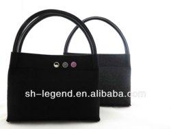 2013 autumn new design felt tote bag, made of 3mm felt and 100% wool