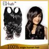 Top Grade No Tangle No Shed Human Hair Weave Black Hair Distributors
