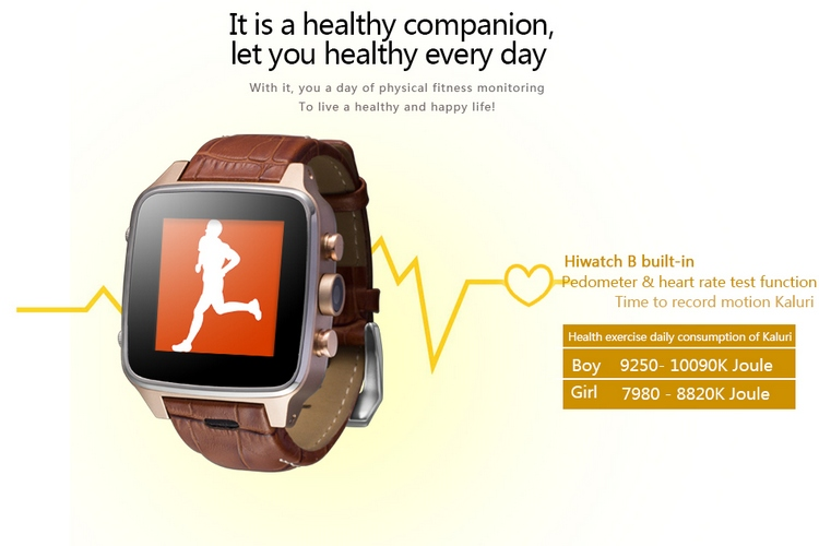 1.55 Inch 3g hand watch dual core android smart watch S008