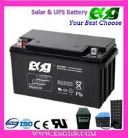 valved regulated lead acid GFM UPS battery 12V65ah