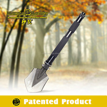 Multi Outdoor Gear Camping Backpacking Survival Kit ,Folding Shovel With Knife ,Whistle