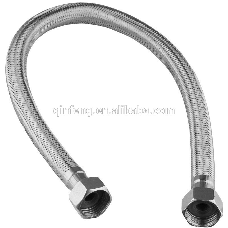 ... 32.jpg. Specifications. Stainless steel braided hose  sc 1 st  Alibaba & Double Head Stainless Steel Braided HoseS.s Sink Flexible Hose ...