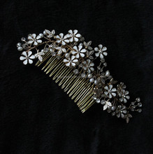 wedding hair comb,bridal hair comb,crystal hair comb