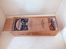 2015 best selling wooden wine box carrier