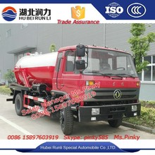 8 cbm Combi vácuo jateamento caminhão de Dongfeng caminhão de sucção de esgoto 170HP motor para vendas
