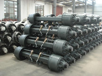 2014 Yearly end Promotion Lowest price American type 130ton trailer axles