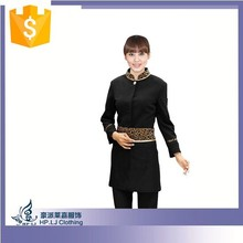 2015 fashion comfortable clothing for waiters