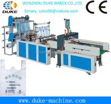 2014 hot sales Full automatic GBD-E 700 Computer Full Automatic T-shirt Bag/plastic bag making machine for sale