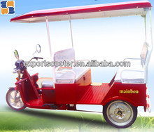 2015 popular 3 wheel passenger auto electric trikes electric rickshaw