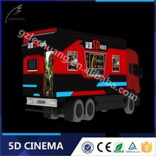 Factory Price 8D/9D/Xd Cinema Interactive Gun Shooting 7D Cinema On Truck Hot