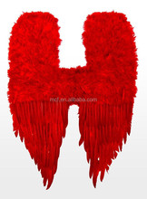 wholesale Party big red large Feather angel wings FW-0022
