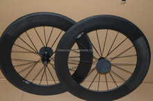 Carbon Road/Track Fixed Bicycle Wheel, Carbon Road Bicycle 88MM wheelset,