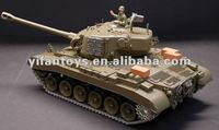 2012 Newest and hottest RC Tank,3838-1 1:16 RC Tank Snow Leopard USA M26, with smoking lights and engin sound