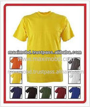 High Quality New Cotton Printed Men Fashion Plain T-Shirt
