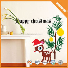 christmas ornament, popular and colorful newest christmas wall sticker