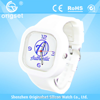 NEW 5ATM Waterproof TOP Quality Silicon Watch hot selling