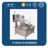 Automatic rotary type mineral water pudding juice yoghourt jelly mineral water cup filling machine