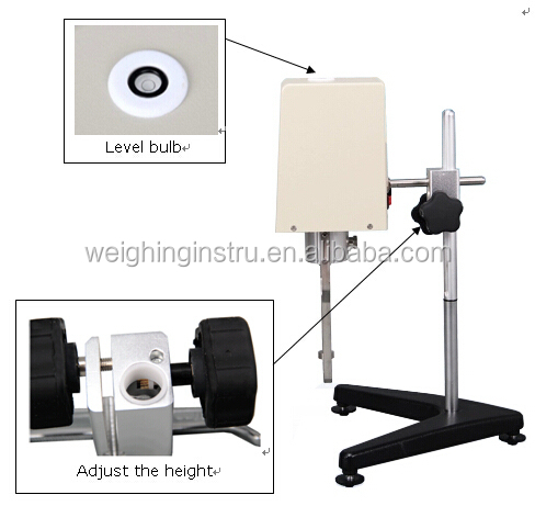 Newest new coming laboratory viscometer test equipment