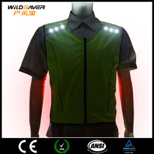 OEM Unisex waterproof design sports t-shirts with Glowing LED