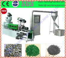 professional design two stage plastic recycling machine